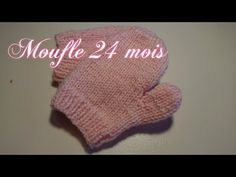 """Tuto Tricot """" Moufle enfant"""" (24 mois) - YouTube Denim And Co, Mittens, Beanie, Make It Yourself, Couture, Knitting, Hats, Bonnets, Bb"""