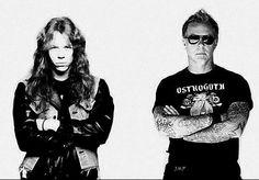 J Hetfield - the man has aged very very well