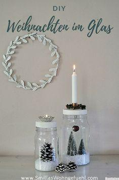 Weihnachtsdeko selber machen: Weihnachten im Glas, ein kleines DIY Christmas Time, Christmas Crafts, Xmas, Mason Jar Crafts, Mason Jars, Diy Natal, Navidad Diy, 242, Diy Weihnachten