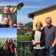 Hanging out for 2 relaxing days in Cortona Italy with our longtime pals Randy and Leslie. Soooo relaxing!!