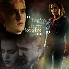 Hermione finds out Draco erased her memory of his friends bullying her without asking her first. (Year 6)
