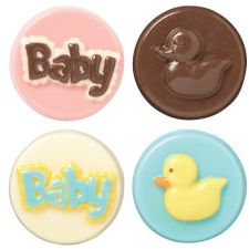 Baby Cookie Candy Mold by Wilton