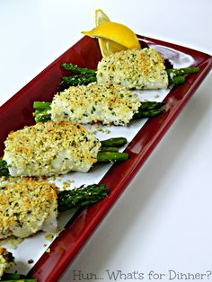 (via Hun… What's for Dinner?: Crispy Asparagus Stuffed Sole #HighLinerSimplyFish)