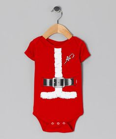 The holiday season will feel even more special and look so much sweeter thanks to this snazzy bodysuit. Its festive graphic, comfy cotton construction and simple snaps make this charming piece perfect for holiday photo ops, family gatherings and anywhere else that could use some Christmas cheer.