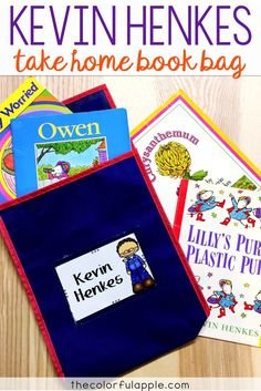 This Take Home Book Bag for Kevin Henkes is full of activities for elementary students as they read his stories. Includes book recommendations, journal prompts, games, family activities and reading strategy practice sheets. A great reading activity to send home with your students to share with their families!