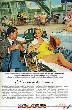 """Cary Grant and Deborah Kerr. Grant in this film is the reason I answer things with """"What-what?"""""""