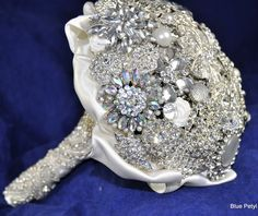 Another  brooch bouqet by Blue Petyl Bouquets