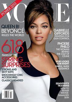 Beyoncé by Patrick Demarchelier Vogue US March 2013