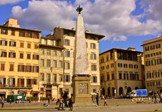Florence, Italy (October 2009) - The picturesque Piazza Santa Maria Novella is not to be missed when visiting the center of Italian Renaissance.