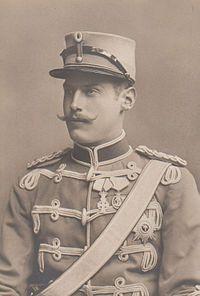 Harald of Denmark (1876 - 1949). Son of Frederick VIII and Louise of Sweden. He married Helena of Schleswig-Holstein-Sonderburg-Glücksburg and had five children.