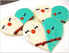 Pink Wedding Cake Sugar Cookie Favor Wedding by SugarMeDesserterie Bird Cookies, Honey Cookies, Iced Sugar Cookies, Heart Shaped Cookies, Coconut Cookies, Heart Cookies, Cookie Wedding Favors, Cookie Favors, Cookie Cakes