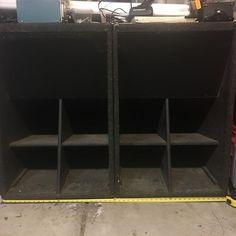 "2x Cerwin Vega SL36 18"" Folded Horn Enclosure #Subwoofers  NeutrinoRecords.com  #Bass #Audio #HouseMusic #Techno #DrumandBass #Rave #EDM #BassMusic #RealHipHop #DJ #Subwoofer P A System, Stage Equipment, Horn Speakers, Recording Studio, House Music, Edm, Techno, Bass, Audio"
