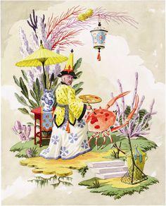 Harrison Howard, Chinoiseries: The Crab Painter