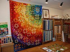 Rainbow quilt (from Wilma Karels Borduren & Quilten)