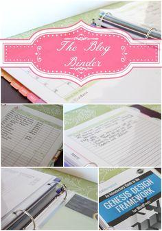 The Blog Binder
