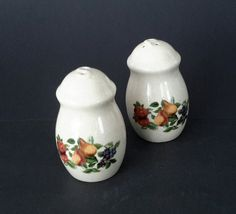 Ceramic Salt & Pepper Shakers by OurVintageNest on Etsy