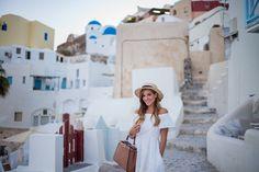 Gal meets Glam-Santorini-Oia Sunset