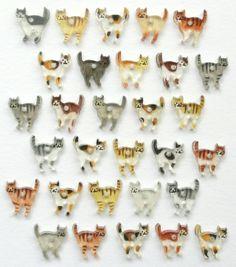《6度目の新入り》 ちいさなネコのピアス by kucing アクセサリー ピアス