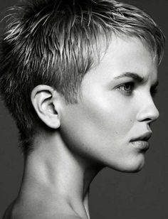 Pixie Haircuts Hairstyle | Young girls with pixie hairstyles gives a cute look. They already owns ...