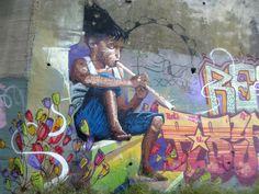 Cementera (Granada). Niño de las pinturas