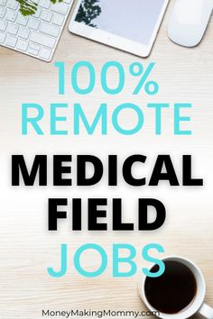 Working in the medical field isn't just about being a doctor. And it isn't just about working in a hospital or doctor's office. There are man work at home positions in the medical field that let you 100% work from home. This company is hiring and offers legitimate work at home jobs. Many are with full benefit packages. Work From Home Companies, Work From Home Opportunities, Work From Home Jobs, Earn From Home, Make Money From Home, Way To Make Money, Tired Of Work, Busy At Work, Home Websites