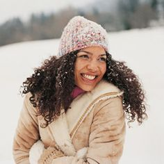 Curly Hair Care Tips for Cold Weather.     I am preparing for this new natural winter!