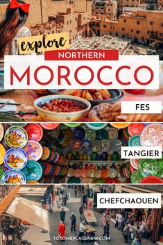 Morocco Travel itinerary | North Morocco travel destinations | Morocco fez  | Morocco travel tips | Morocco Tangier | Morocca things to do in 7 days | Morocco Riad | Morocco Fes | Morocco blue city | Morocco Chefchaouen | Morocco travel map #morocco #moroccotravel