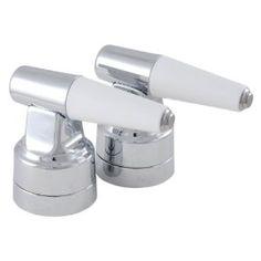 LDR 500 6022 Universal Replacement Lever Handles With Porcelain Blades, Chrome (Tools & Home Improvement)  http://www.amazon.com/dp/B004CR4N1E/?tag=goandtalk-20  B004CR4N1E