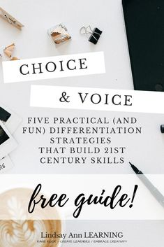 These teaching strategies for English language arts teachers will increase student voice & student choice in the classroom! If your goal as an English teacher is a student-led classroom that emphasizes 21st-century skills, the tips in this guide will help you to use differentiated learning as a part of your regular instruction! Student-led learning doesn't have to be a TON of work and can help you save time! #secondaryela #reading #englishteacher #teachertips #elacurriculum #studentchoice Poetry Lesson Plans, Poetry Lessons, Instructional Strategies, Teaching Strategies, Teaching Ideas, Teaching Language Arts, English Language Arts, Vocabulary Graphic Organizer, Middle School Grammar