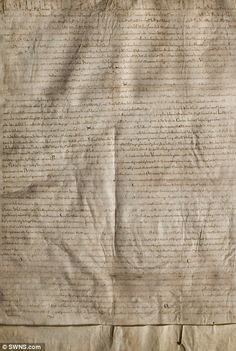 The Lincoln Cathedral Magna Carta is one of only four remaining originals...