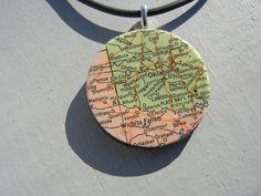 A Wichita Falls Necklace! Cute!!