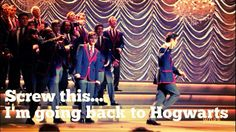 Dying!! #warblers #glee #DarrenCriss I