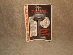 Creda Meat Thermometer New Old Shop Stock Vintage