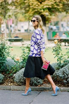 Helena Bordon Paris Fashion Week SS 2015 #streetstyle #paris