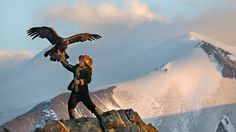 The Eagle Huntress, a documentary film set in Mongolia directed by Otto Bell and starring teenager Aisholpan Nurgaiv, debuted Sunday at Sundance Film Mongolia, Eagle Hunting, Film Base, 13 Year Olds, New Movies, Public, Bald Eagle, Eagle Eye, Marvel