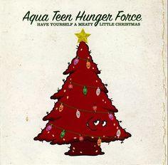 Aqua Teen Hunger Force Meaty Little Christmas Cd Neko Case 2009 Promo #AdultSwim #Christmas