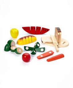 Look what I found on #zulily! Cutting Food Box by Melissa & Doug #zulilyfinds