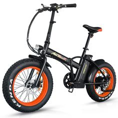 BUY Addmotor MOTAN Folding Fat Tire Electric Bike Snow Beach Bike 20Inch Electric Bicycles