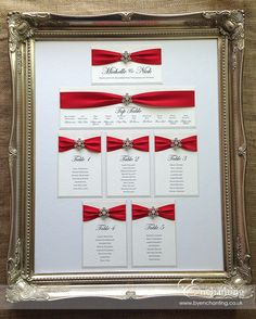 Red Wedding Tables For A Reception Guide