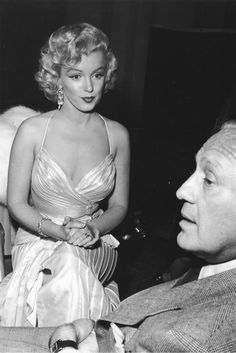 Marilyn Monroe & Jack Benny 1953