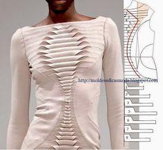 Moldes Moda por Medida: DETALHES DE MODELAÇÃO - 25