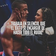 Herbalife Quotes, Smile Word, Michael B Jordan, Boxing Fight, Tessa Thompson, Millionaire Quotes, Clint Eastwood, Spanish Quotes, Positive Thoughts