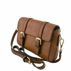 Mini Button Flap Messenger Bag