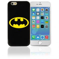 "COVER ""DC Comics"" ORIGINALE PER APPLE IPHONE 6 – BATMAN LOGO Codice prodotto: IP6WB1 Info a: info-tecniche@phonix.it"