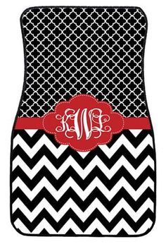 Car Mats Gift Ideas Car Accessories Monogrammed by ChicMonogram
