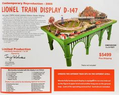 Still my favorite dealer display - Lionel Train Display D-147