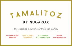 Tamalitoz by Sugarox is the fiery and fierce Mexican style candy that takes your tastebuds on a journey from sweet to heat. Mexican Candy, Holidays To Mexico, Candy Lips, Tamarind, Hard Candy, Sweet And Salty, Tamarindo
