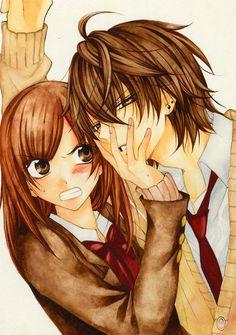 Namaikizakari Im going to read this manga Manga Love, I Love Anime, Studio Ghibli, Manga Romance, Mega Anime, Namaikizakari, Anime One Piece, Manga Couple, Trafalgar Law