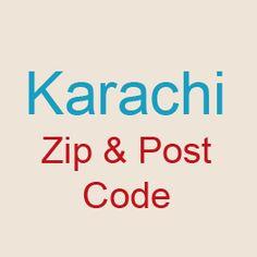 Karachi Zip Code List Postal