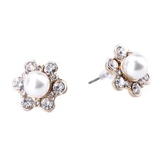 Find More Stud Earrings Information about pendientes new design fashion brand jewelry Flowers earrings Superior quality Pearl Stud Earring Statement earring for women,High Quality jewelry stores earrings,China earrings triangle Suppliers, Cheap jewelry earring holder from Yiwu zenper accessories crafts co.,ltd  on Aliexpress.com
